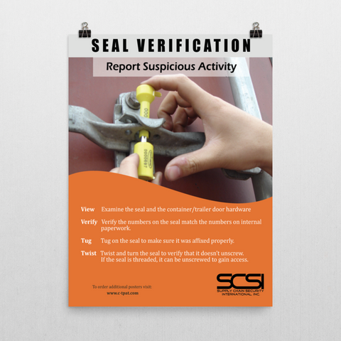 Seal Verification (Receiving Department)