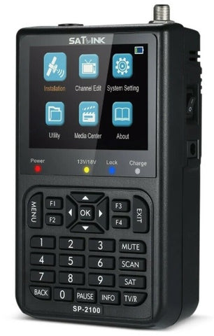 Satlink SP 2100 - Satellite signal finder DVB-S/S2 MPEG-2/4
