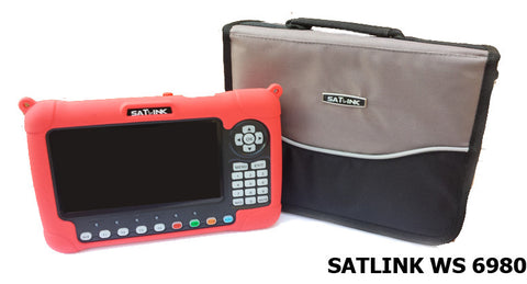 Satlink Satellite Meter WS 6980 HD DVB -S/S2 , DVB -T/T2 / DVB -C new model 2018