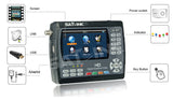 Satlink WS 6951 DVB-S/S2 HD Satellite Finder WITH MPEG-2/MPEG4