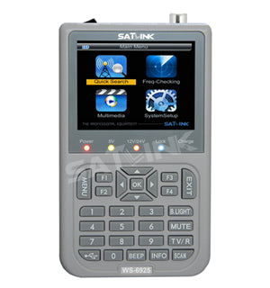 Satlink Satellite meter WS 6925 DVB-T With HD TFT LCD Screen