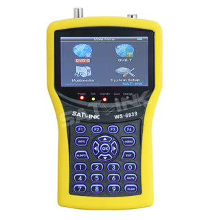 Satellite finder WS 6939 DVB-T&DVB-S(4.3 Inch LCD Screen)