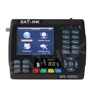Satlink WS 6950 DVB-S Satellite Meter