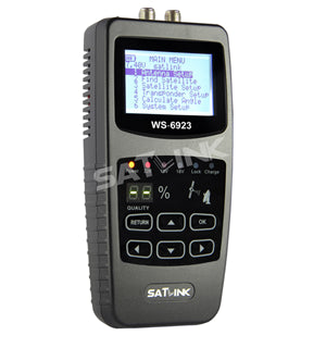 Satlink WS 6923 Digital Satellite Finder/Meter