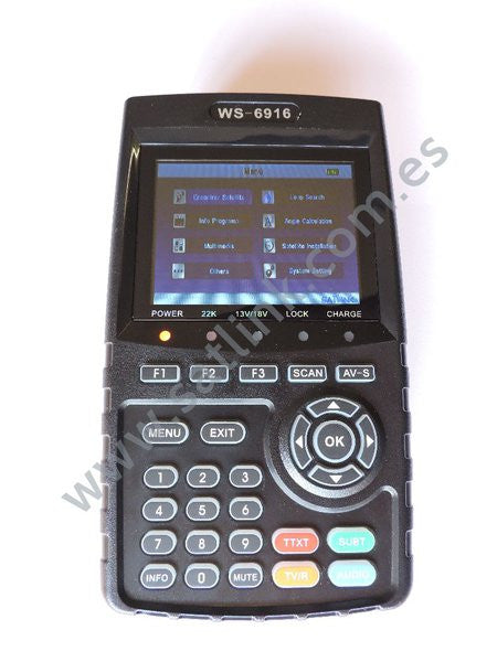 Satlink Satellite meter WS 6916 DVB -S2 HD