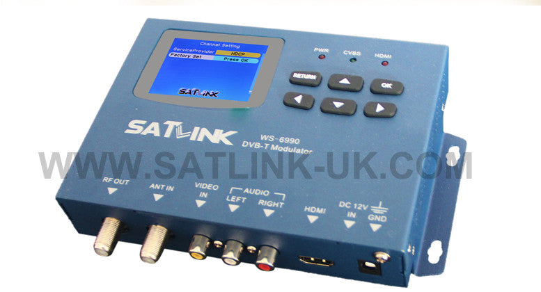 Satlink Modulator ws 6990