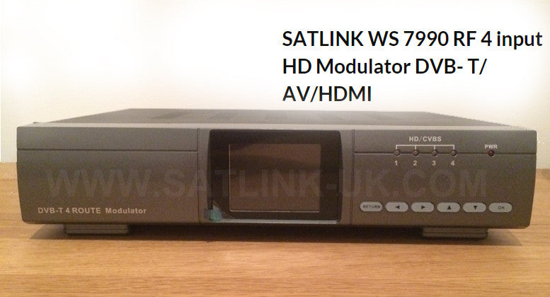 Satlink ws 7990 modulator