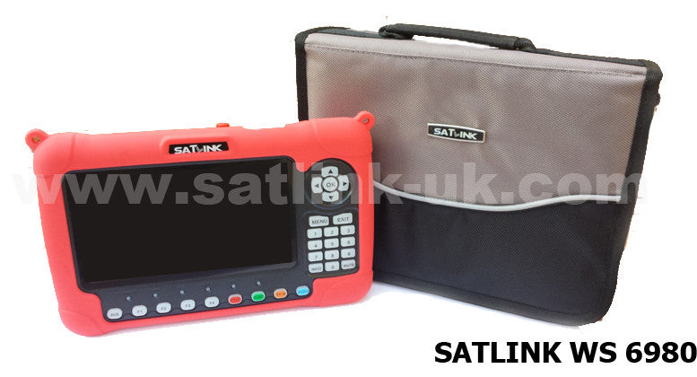 Satlink Satellite meter ws 6980