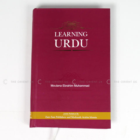 Learning Urdu Language Book for beginner with English Translation Hardcover 279 Pages - The Orient