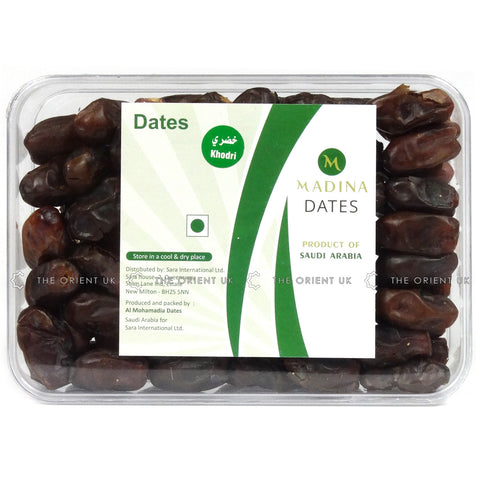 Madina Khudry Dates 700g Box Grade A Quality Khejoor - The Orient