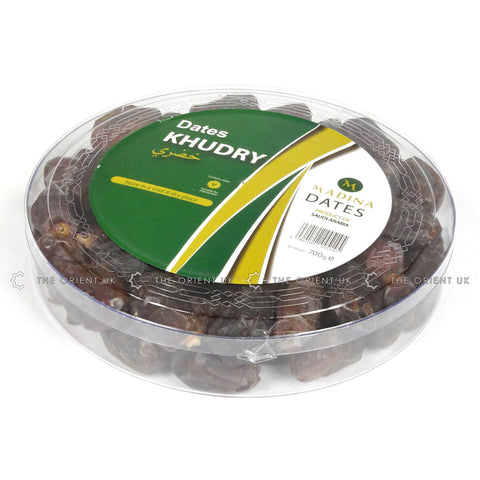 Madina Khudry Dates 700g Box Grade A Quality Khajoor - The Orient