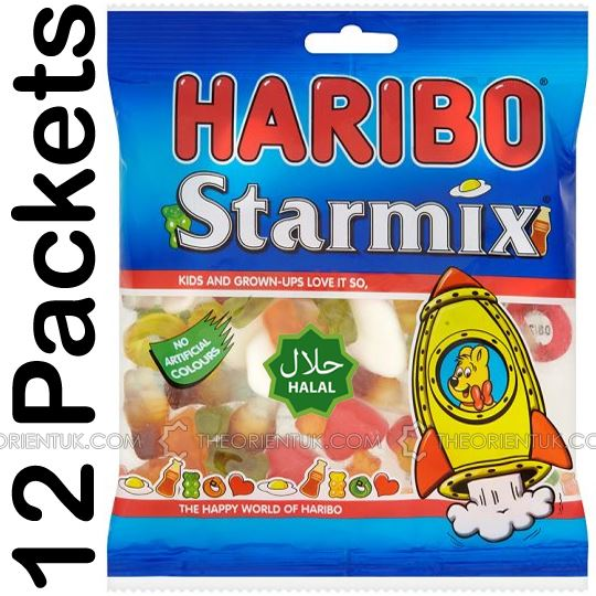 12x Haribo Starmix Halal Sweets - The Orient