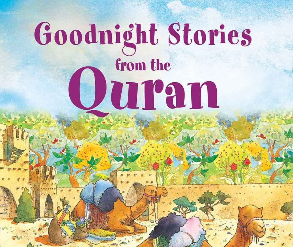 Kids Children Goodnight Stories from the Quran Islamic Kids Story Time Book