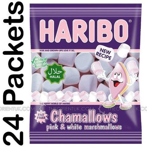 24x Haribo Marshmallows Halal Sweets - The Orient