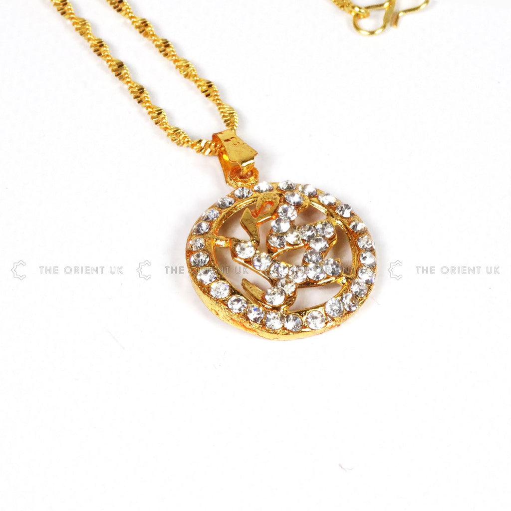 Gold Mohammad  Necklace Pakistan