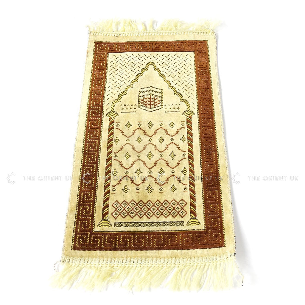 Kids Pray Mat Small 60x35 Prayer Namaz Sijadat Rug Mat for Children