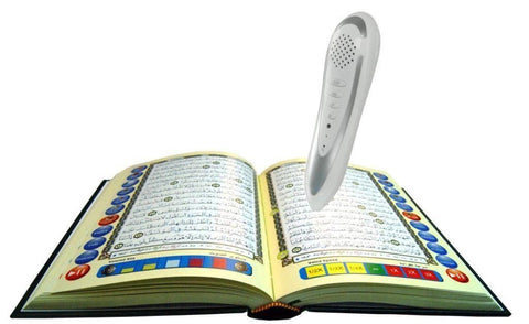 Digital Quran Reading Pen 8GB Large Font Colour Coded Qur'an + Extras