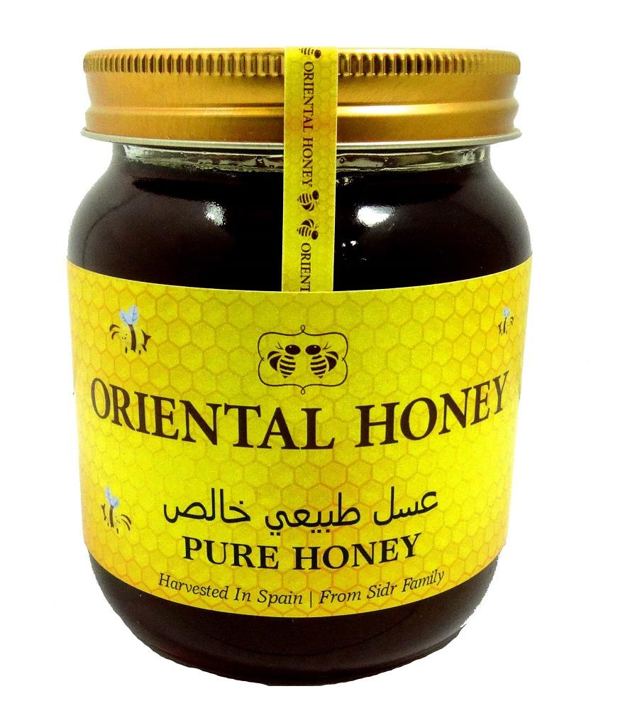 Sidr Honey Orient 500g Natural Pure Honey No Artificial Syrup Added - The Orient