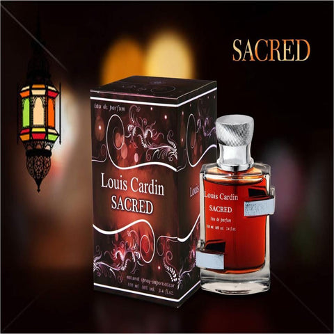 Sacred by Louis Cardin 100ml Mens Perfume Fragrance Sandalwood Musky Scent - The Orient