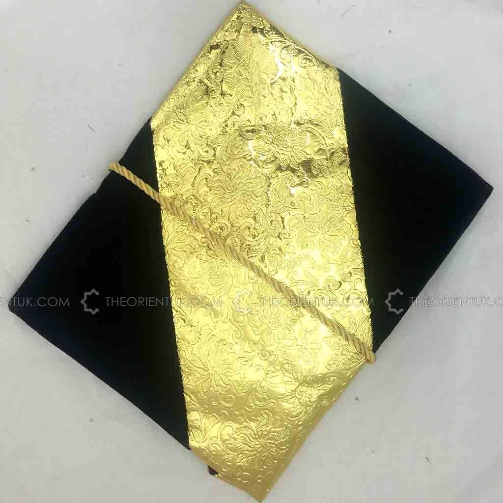 Velvet Quran Cover Book Case Gold Designed Gilaf 30 x 30 cm