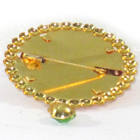 Ya Rasool Allah Diamonds Stylish Pin Brooch Badge