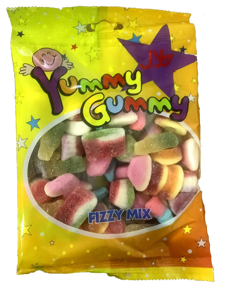 Kids Children Fizzy Mix Yummy Gummy Jelly Jellies Soft Candy Jelly - The Orient