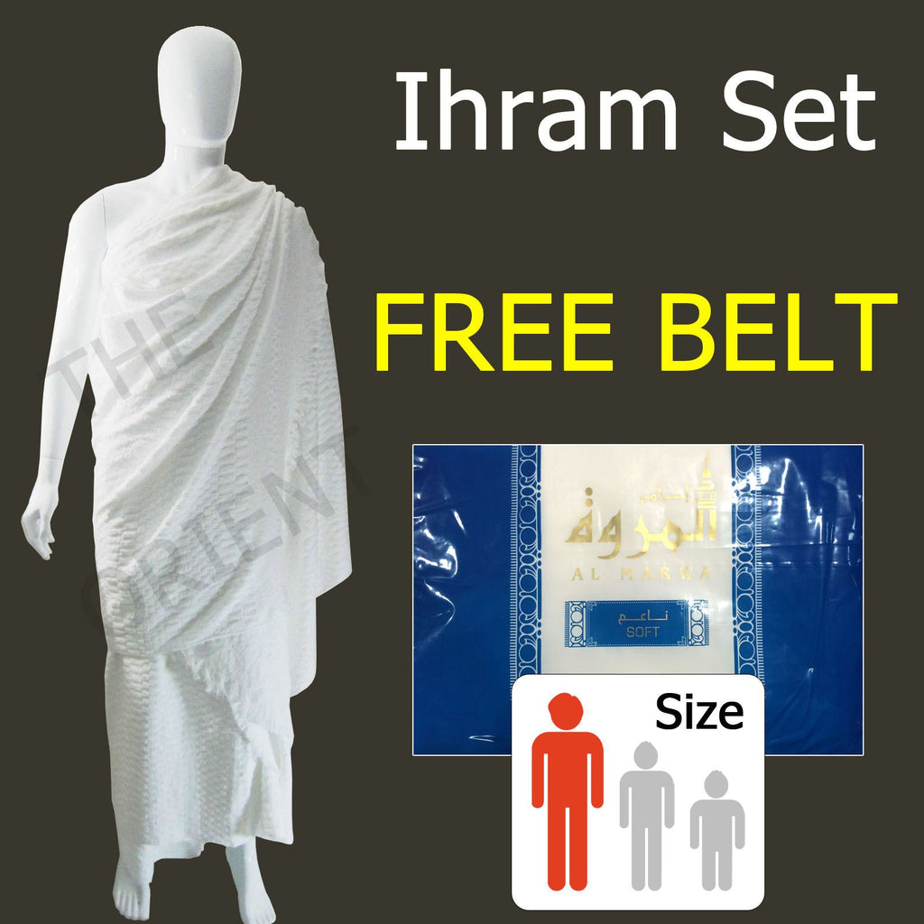 Ihram Al Marwa Blue + Belt
