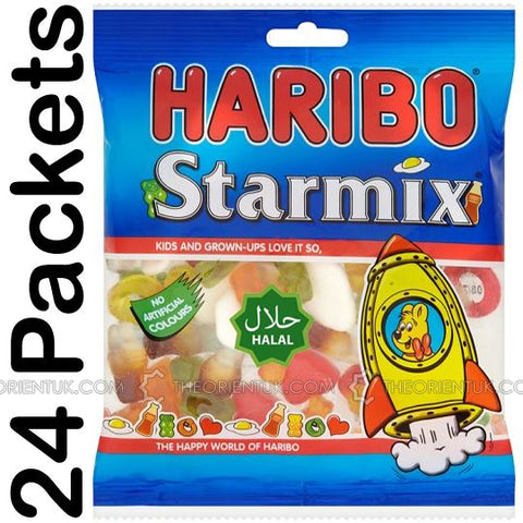 24x Haribo Starmix Halal Sweets - The Orient