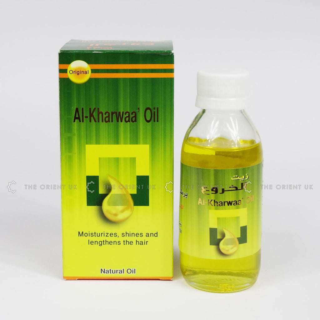 Al-Kharwaa' Castor Oil 125 ml by Original 100% Pure Natural for Hair Beauty Care
