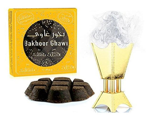 Bakhour Ghawi Nabeel 40g Home Kitchen Mosque Essence Incense Fragrance - The Orient