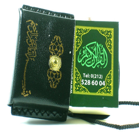 Islamic Mini Quran Car Mirror Hanging Decoration Quality Leather Ideal Eid Gift - The Orient
