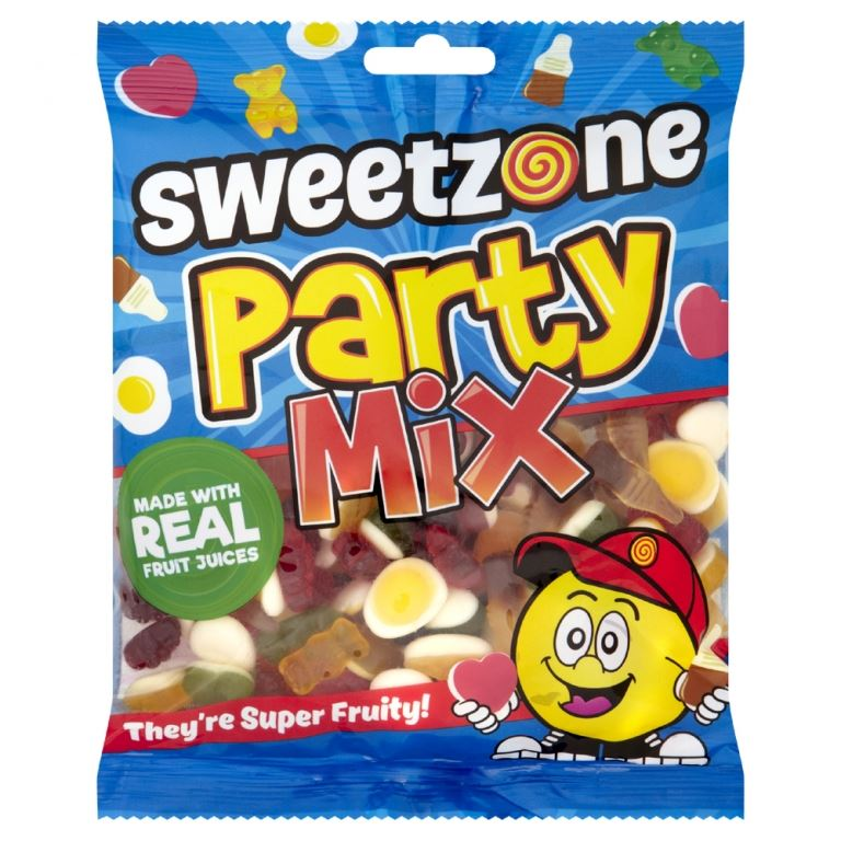 Sweet Zone Kids Children Party Mix Real Fruit Fruity Jelly Jellies
