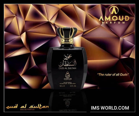 Oud Al Sultan 100ml Eau De Perfume 100ml Men Women Luxurious Charming Scents - The Orient
