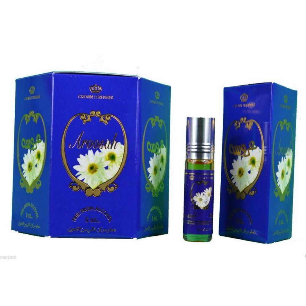 Al Rehab Aroosah 12 x 6ml Perfume for Men Women Genuine Authentic Original Roll On Attar Fragrance - The Orient