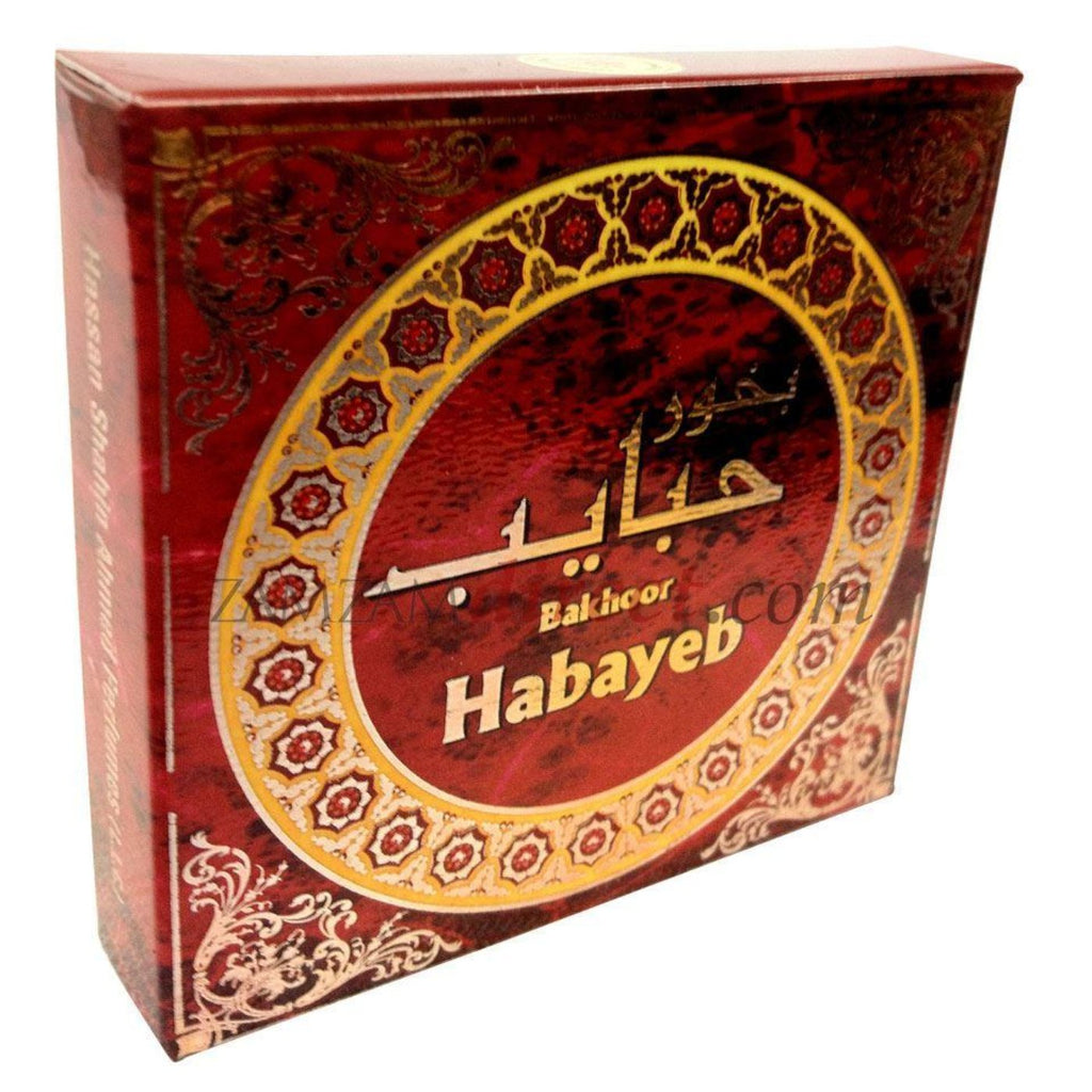 Bakhooor Habayeb 40g Home Kitchen Mosque Fragrance Incense Essence Burner - The Orient