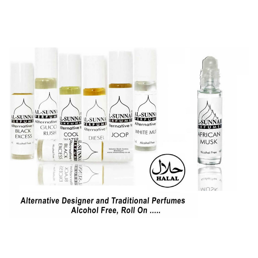 2 x 100% Halal Designer Inspired Perfume Attar Alcohol Free Roll On Palestine Musk - The Orient