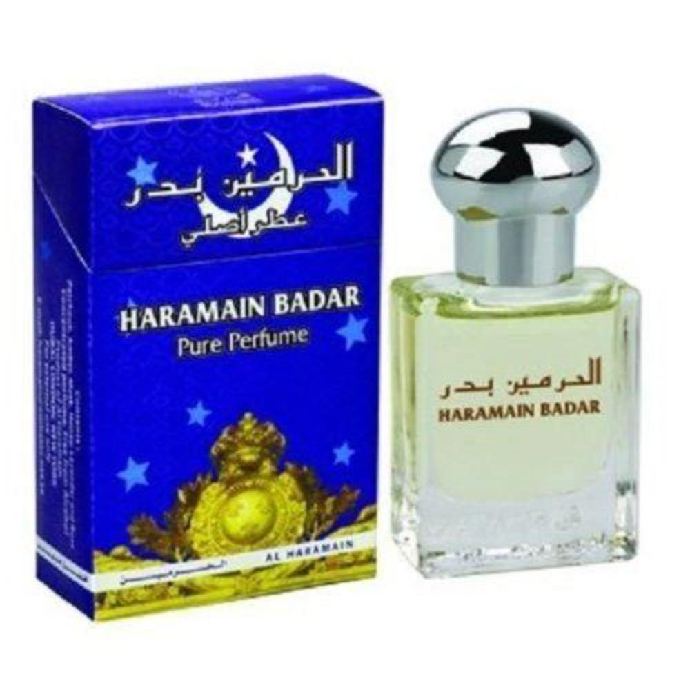 15ml Haramain Badar Pure Perfume Attar Women Men Fragrance Pocket Size Fragrance - The Orient