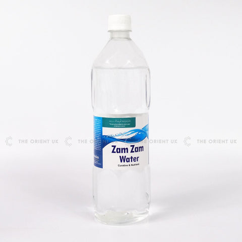 Zamzam Water 1L from Makkah Curative & Nutrient 100% Quality Natural Treatment - The Orient