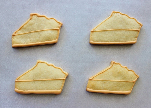 Pie Slice Cookie Decorating Guide