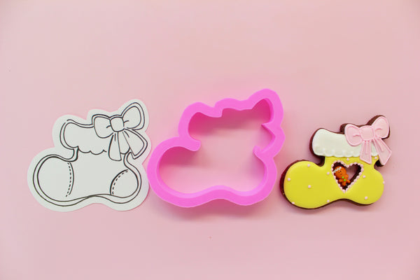 Y&Csweets (Yohko) Stocking Cookie Cutter