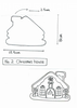 Y&Csweets (Yohko) Gingerbread House Cookie Cutter