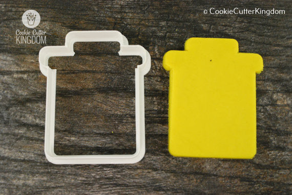 Trash Can Cookie Cutter