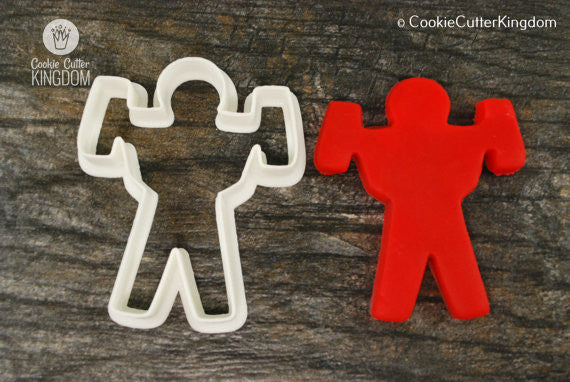 Bodybuilder Cookie Cutter