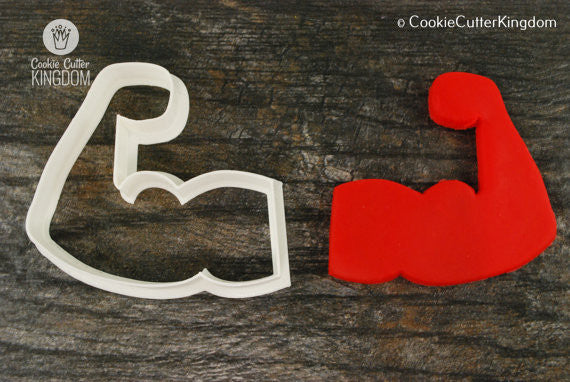 Biceps Cookie Cutter