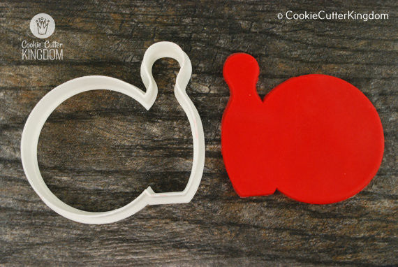 Bowling Ball and Pin Cookie Cutter
