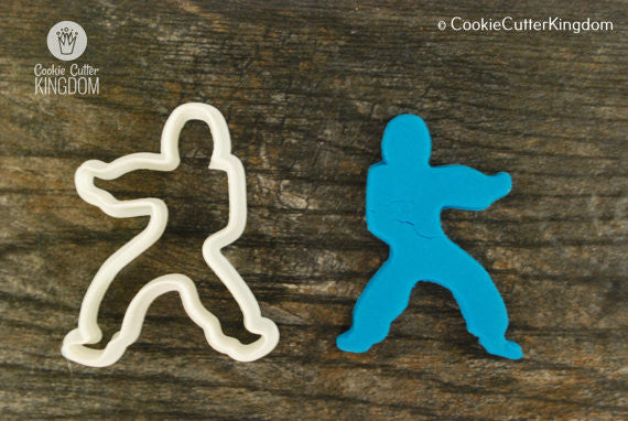 Karate Cookie Cutter