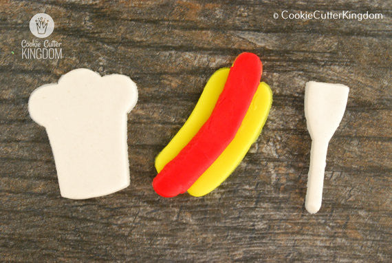 3 Piece Grilling Cookie Cutter Set