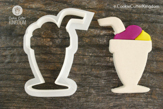 Milkshake Cookie Cutter