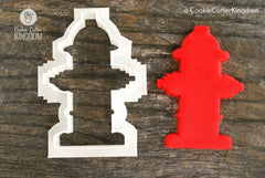 Fire Hydrant Cookie Cutter