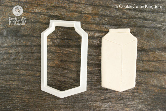 Milk Carton Cookie Cutter